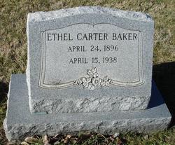 Ethel <i>Carter</i> Baker