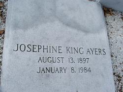 Josephine <i>King</i> Ayers