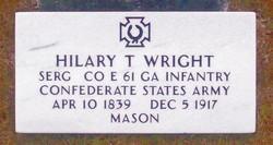 Hilary Thomas Wright