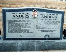 Trudy Ann <i>McGee</i> Anders