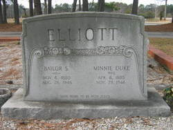 Bailor Samples Elliott, Jr