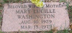 Mary Lucille Washington