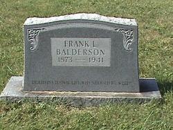 Franklin Leslie Balderson