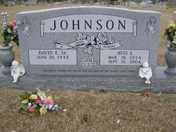 Avis L <i>Shackleford</i> Johnson