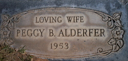 Peggy <i>Bishop</i> Alderfer