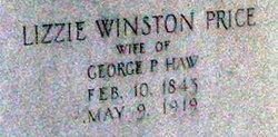 Elizabeth Winston Fontaine Lizzie <i>Price</i> Haw