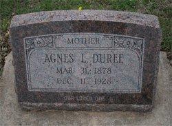 Agnes L <i>Klingensmith</i> Duree