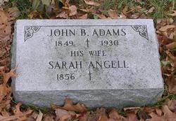 Sarah <i>Angell</i> Adams