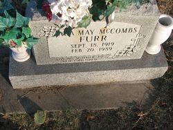 Ada May <i>McCombs</i> Furr