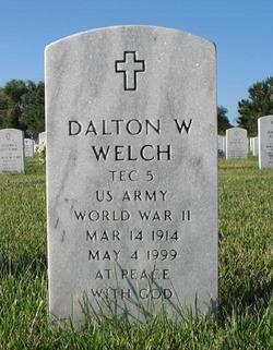 Dalton W Welch