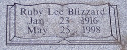 Ruby Lee <i>Blizzard</i> Rice