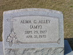 Alma G Amy Alley
