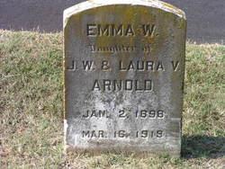 Emma W Arnold