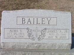 Alma V <i>Larkin</i> Bailey
