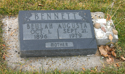 Beulah Augusta <i>Woodruff</i> Bennett