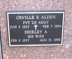 Shirley A Alden