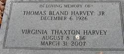 Virginia Ann <i>Thaxton</i> Harvey