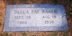 Della Fay <i>Barnett</i> Baker