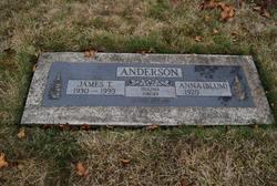 Anna <i>Blum</i> Anderson