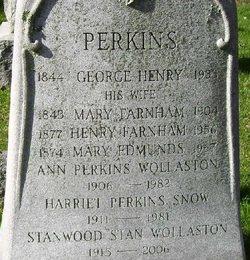 Mary <i>Edmunds</i> Perkins