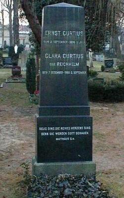 Clara <i>Reichhelm</i> Curtius