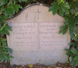 Edith <i>Howe</i> DeWolf