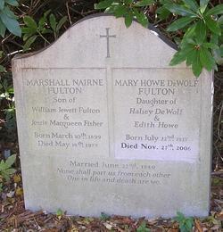 Mary Howe <i>DeWolf</i> Fulton