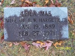 Leila Mae <i>Sabiston</i> Hargett
