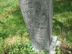 Mary A <i>Payne</i> Hawkins