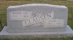 Rev Wanda Lee <i>Davis</i> Clausen