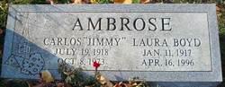 Carlos Pershine Jimmy Ambrose