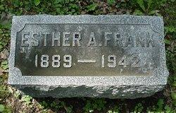 Esther Ann <i>Kantz</i> Frank