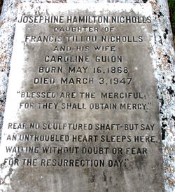 Josephine Hamilton Nicholls