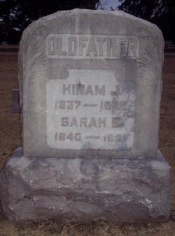 Sarah E <i>Wikel</i> Oldfather