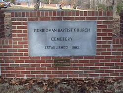 Currioman Baptist Church Cemetery