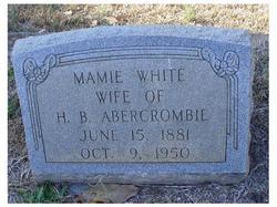 Mamie <i>White</i> Abercrombie