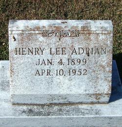 Henry Lee Adrian