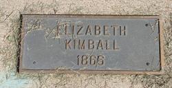 Elizabeth Kimball