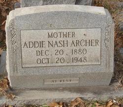 Addie <i>Nash</i> Archer