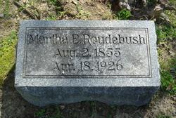 Martha E <i>Ash</i> Roudebush