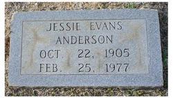 Jessie Evans Anderson