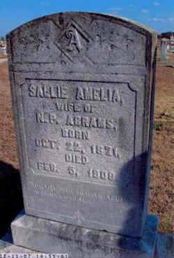 Sallie Amelia <i>Elmore</i> Abrams