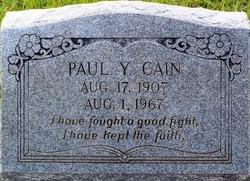 Paul Yearn Cain, Sr