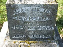 Cassandra Priscilla Cassie <i>Smith</i> Martin