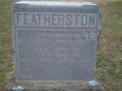 Ida B. <i>Whitaker</i> Featherston