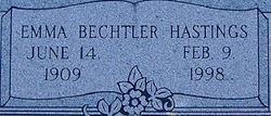 Emma <i>Bechtler</i> Hastings