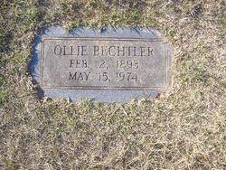 Ollie Bechtler