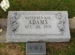Winnifred May Adams