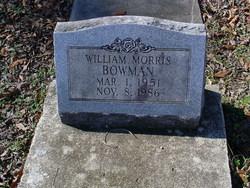 William Morris Bowman