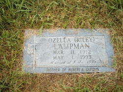 Myrtle Ozella <i>Riley</i> Lampman